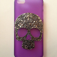 Floral Skull Iphone 5 Case