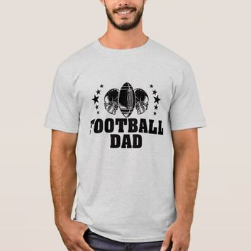 Football Dad American Football Father T-Shirt