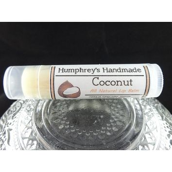 COCONUT Lip Balm | Handcrafted | Tropical