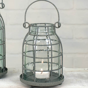 Mason Jar Candle Cage - Pint