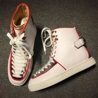 Christian Louboutin CL Style #2166 Sneakers Fashion Shoes Best Deal Online