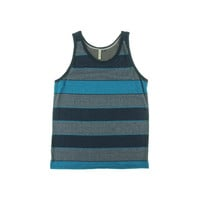 Univibe Mens Knit Striped Tank Top