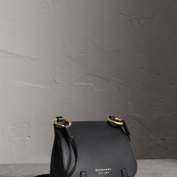 The Baby Bridle Bag in Leather in Black - Women | Burberry