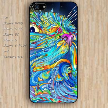 iPhone 6 case watercolor owl iphone case,ipod case,samsung galaxy case available plastic rubber case waterproof B222