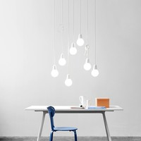 Opal glass pendant lamp BULB FICTION Bulb Fiction Collection by Lightyears | design KiBiSi