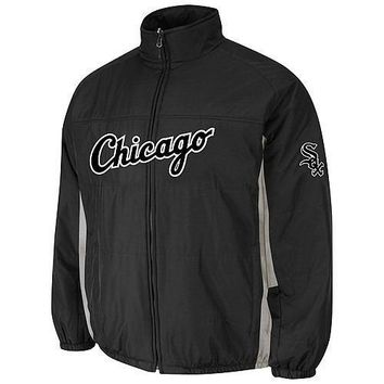 Chicago White Sox Majestic MLB On-Field Double Climate Therma Base Jacket