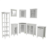 Elegant Home Fashions Madison Avenue Bathroom Cabinet Set