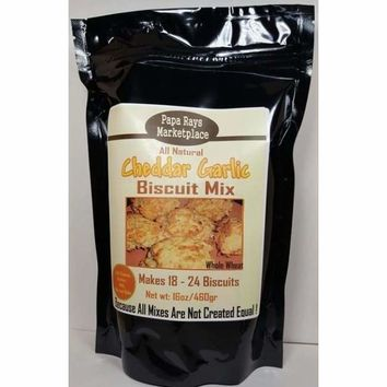 Papa Ray's Marketplace Cheddar Garlic Biscuit Mix