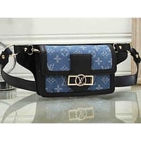 LV hot selling printed color shopping bag fashionable lady casual shoulder bag #5