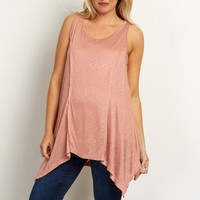Dusty-Peach-Asymmetric-Stitched-Accent-Tank-Top