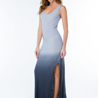Sun Action Ombre Maxi Dress