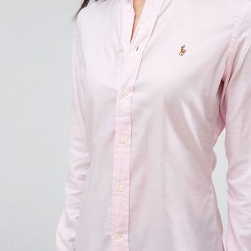 Polo Ralph Lauren Classic Oxford Shirt at asos.com