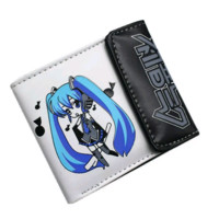 Brand New Vocaloid D Hatsune Miku Leather wallet