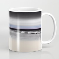 Lovely Twilight Seascape 2 Mug by Jen Warmuth Art And Design