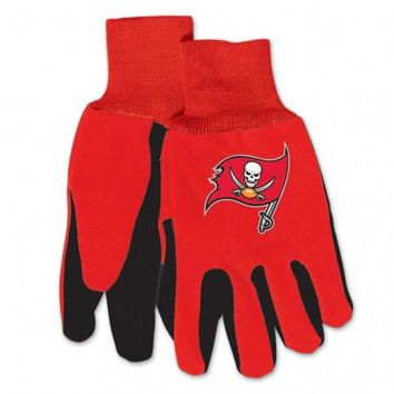 Tampa Bay Buccaneers - Adult Two-Tone Sport Utility Gloves