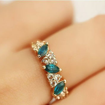 Stylish Shiny Gift New Arrival Jewelry Vintage Alloy Korean Ring [6573119495]