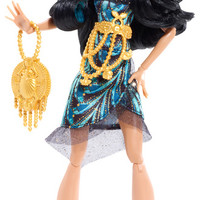 MONSTER HIGH® Frights, Camera, Action!™ Black Carpet - Cleo De Nile® Doll - Shop Monster High Doll Accessories, Playsets & Toys | Monster High