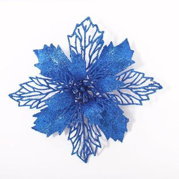 Merry Christmas Hollow Out Flower Decor Christmas Tree Hanging Decoration Xmas Ornament [9343508228]
