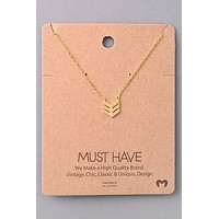 Chevron Must Have Necklace
