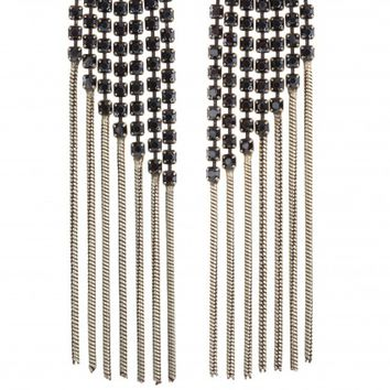 Polly Jean Opal Fringe Earrings | Calypso St. Barth