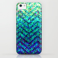Zig Zag Sparkley Texture G230 iPhone & iPod Case by MedusArt | Society6