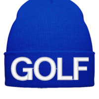 golf wolf odd future - Beanie Cuffed Knit Cap