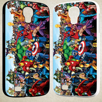 Marvels Superhero F0072 Samsung Galaxy S3 S4 S5 (Mini), Note 2 Note 3 Note 4, HTC One M7 M8 Cases