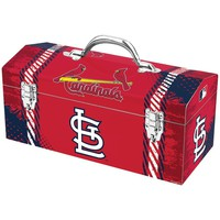 "Sainty St. Louis Cardinals 16"" Tool Box"