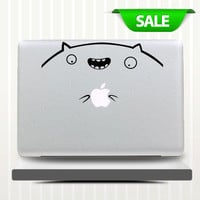 Big Facemacbook pro decals macbook air macbook pro decal vinyls macbook decals sticker Vinyl mac decals Apple Mac Decal 0044