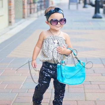 Sequin Leggings - Youth