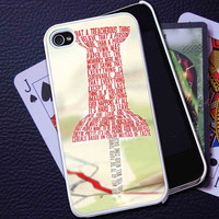 John Green Paper Towns 2  - iPhone 5C Case, iPhone 5/5S Case, iPhone 4/4S Case, Durable Hard Case BD