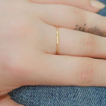 Something Simple Ring - Gold