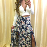 Secret Garden Maxi Skirt (more colors)