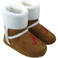 Alabama Crimson Tide Ladies Chestnut Booties - Khaki