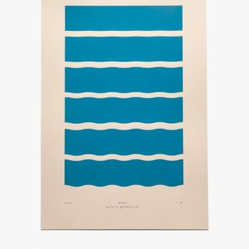 Julia Kostreva Waves Print