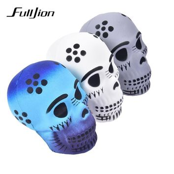 Skull Skulls Halloween Fall Fulljion Antistress Squishe Squishy  Novelty Gag Toys Anti Stress Relief Funny Popular Surprise Squeeze Gags Practical Joke Calavera