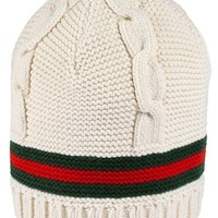 Gucci Liom Cable Knit Beanie | Nordstrom