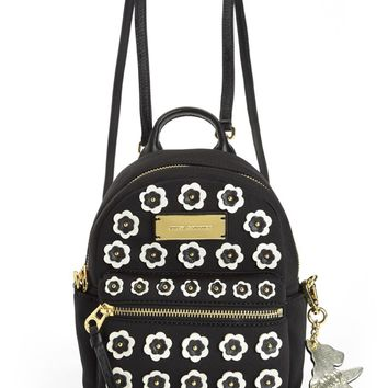 SOLSTICE FLOWER APPLIQUE MINI BACKPACK