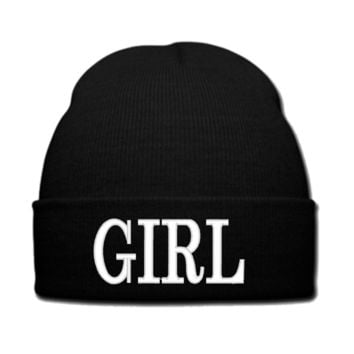 GIRL beanie or SNAPBACK hat