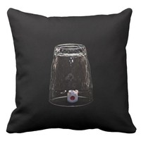 Missing Impossible Throw Pillow