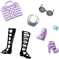 Barbie Fashion Accessory Pack, Black and Purple