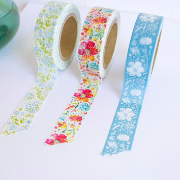 Katie Daisy Washi Tape Set