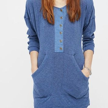 Free People Seeking Heart Mini Dress