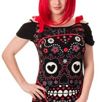 Red See No Eveil Top