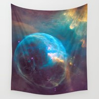 Nebula - Science Rules! Wall Tapestry by The Backwater Co