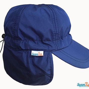 """Baby Flap Hat with Brim - """"Shady Days"""" (Multiple Colors)"""