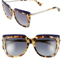 Women's Fendi 53mm Retro Sunglasses