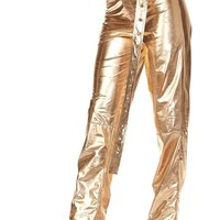 Metallic Pants