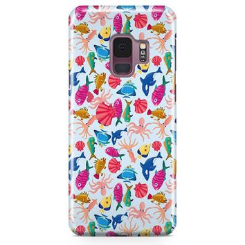 Seamless She Fishes Samsung Galaxy S9 Case | Casescraft