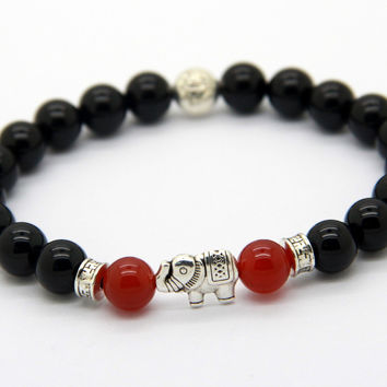 Savannah Elephant Of Prosperity Bracelet
